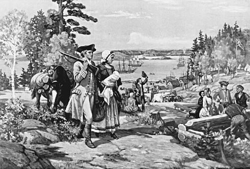 hardships of early canadian settlers kids