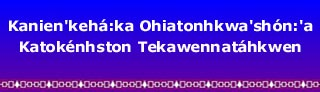 Ontario Ministry of Education - The Mohawk Language Standardisation Project